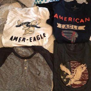 Men's American Eagle tshirt Bundle